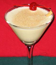 Ingredients  3 oz. Eggnog  2 oz. Vanilla Vodka 1 oz. Amaretto