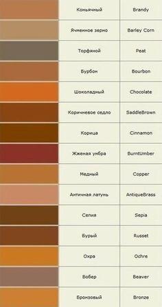 Названия цветов и оттенков полная версия... фото #3