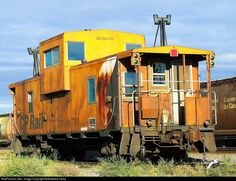 RailPictures.Net Photo: CP 434703 Canadian Pacific Railway Caboose at Calgary, Alberta, Canada by Matthew Hicks