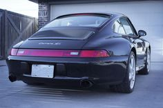 Black ceramic coated #Fister Stage II exhaust is on! #Porsche993 #DIY