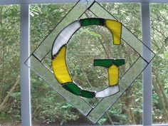 Order any initial in your team Colors: Example shown Green Bay Packers by jpglass on Etsy