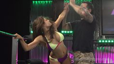 """Brooke Fairchild in """"Torture Rack of Death"""" from Ring Divas"""