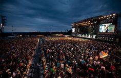 Music Festival in Germany Rock am Ring 2014 Nürburg