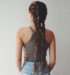 16 peinados para cabello largo hairstyle for long hair French Braid Hairstyles, Pretty Hairstyles, Lazy Hairstyles, Long Haircuts, Hairstyles Pictures, Hairstyles 2018, Winter Hairstyles, Natural Hairstyles, Love Hair