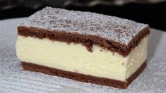 """Nefalšovaný """"SLOVENSKÝ PUDINGÁČ"""" ,recept od svokry, ktorý ma skutočne dostal! - snadnejidlo Sweet Desserts, No Bake Desserts, Sweet Recipes, Tiramisu, Food To Make, Cheesecake, Deserts, Muffin, Food And Drink"""