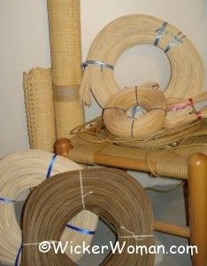 cane and basket supplies. Wicker Woman. Blog/site with weaving patterns, classes, supplies and tips