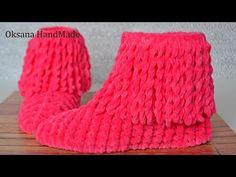 Home slippers boots - lia Kids Slippers, Knitted Slippers, Easy Knitting, Knitting Patterns, Slipper Boots, Crochet Woman, Yarn Projects, Merino Wool Blanket, Handmade