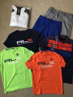 6cdb3e5701 Lot Of RLX Golf Polo Ralph Lauren Paneled Stretch Wool Jacket Tee SM Shorts  30 #fashion #clothing #shoes #accessories #mensclothing #othermensclothing  (ebay ...