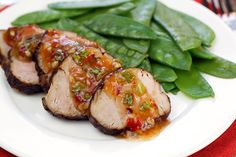 Spicy Asian Pork Tenderloin Recipe   Hungry Girl