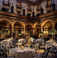 "mademoiselle-bazaar:  ""Restaurant San Fernando, Sevilla, Spain  """