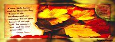 Autumn Poem Facebook Covers, Autumn Poem FB Covers, Autumn Poem Facebook Timeline Covers, Autumn Poem Facebook Cover Images