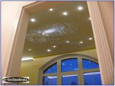 sypialnia oświetlenie - sypialnia lampy - sypialnia gwieździste niebo e-technologia