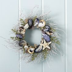 Nantucket Fog White Twig Wreath