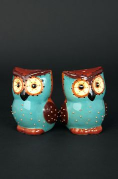 Owl+Salt+And+Pepper+Shakers