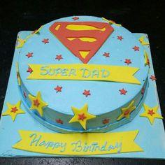 3d Cakes, Cupcake Cakes, Theme Cakes, Super Dad, Birthday Cake, Desserts, Food, Themed Cakes, Birthday Cakes