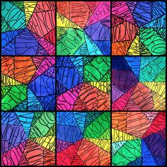 In the classes of Grade level 6, we are studying the color wheel. What better way to learn color theory that putting it into practice? We started painting the primary colors with tempera colors, an...
