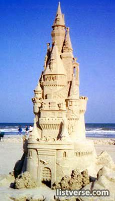 now that's a sand castle