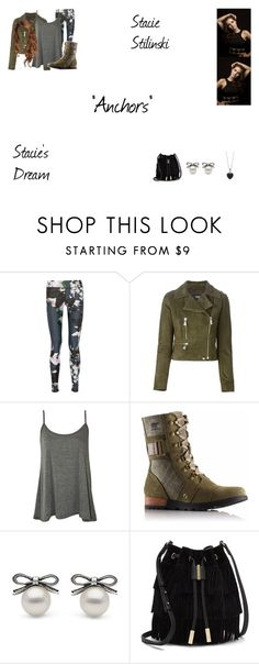 """Stacie Stilinski Worlds Colliding (Teen Wolf) 3.13 ""Anchors"""" by mysticfalls1997 ❤ liked on Polyvore featuring The Upside, Versus, WearAll, SOREL, Vince Camuto and BERRICLE"