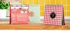 Book design - Smaken verschillen, daarom zijn de receptenboeken er in 3 verschillende stijlen.