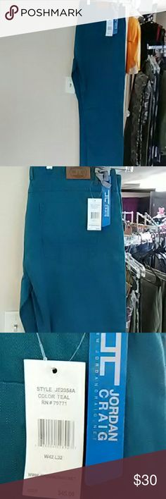 5a430941bab1 Shop Men s JORDAN CRAIG Green size 42 Jeans at a discounted price at  Poshmark. Description  Brand new never worn size color teal.
