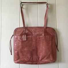 Latico 100% leather handbag. Latico 100% leather handbag. Size 16 inches long, 10 inches in height, 1 inch i width, in good condition, clean inside. Latico Bags Shoulder Bags