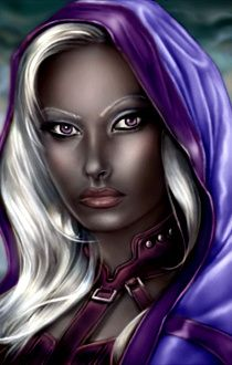 Bg1 Human Female With Images Baldur S Gate Portraits Fantasy