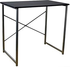 Shop for Harbour Housewares Computer Laptop Notebook Wooden Desk Table Pc Office Workstation - White. Starting from Compare live & historic home furniture and decor prices. Office Desk With Hutch, White Desk Office, Best Home Office Desk, White Desks, Table Pc, Table Desk, Industrial Office Desk, Gym Room At Home, Office Workstations