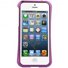 HyperGear Aircraft Aluminum Bumper Cover for iPhone 5 - Purple | RP: $29.95, SP: $24.95