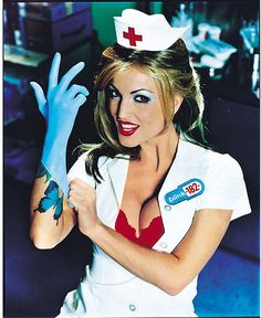Blink 182 Nurse Costume Now Sir Just bend over Nurse Halloween Costume, Sexy Nurse Costume, 90s Costume, Halloween Eve, Halloween Ideas, Lilith Demon, Blink 182 Albums, Blink 182 Nurse, Enema Of The State