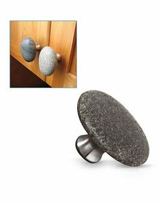 Sea Stone Cabinet Knobs Or Drawer Pulls | Drawers, Stone and Natural