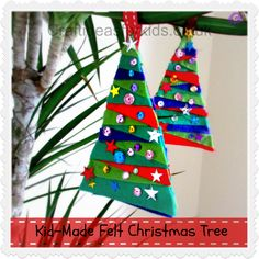 Felt Christmas Tree: Simple, easy to make and great for fine motor development. This is the perfect craft for independent crafty kids. My girlie loved making them; cutting up our scrap felt, creating her own pattern and then finishing off with a little sparkle. Our Felt Christmas Tree was inspired by Shirley Hughes Alfie: Alfie's …