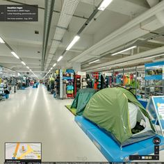 Google Street View Innenansicht // Decathlon Hagen - August 2014 #StreetViewTrusted #GoogleStreetView  www.panomondo.com