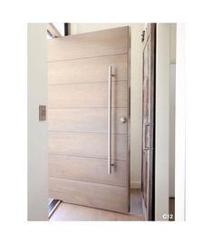 This but black with a diff handle. Pivot Door Company: Online Shopping for Semi-Custom Pivot Entry Doors Modern Entrance Door, Modern Front Door, Front Door Entrance, Entry Doors, Door Entryway, Patio Doors, Main Door Design, Front Door Design, Exterior Doors