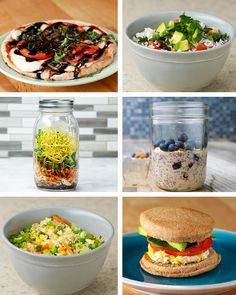 Healthier Dorm-Friendly Meals by Tasty Quick meals Kids lunch Healthy Recipe Videos, Healthy Dinner Recipes, Healthy Snacks, Vegetarian Recipes, Healthy Eating, Protein Snacks, Healthy Breakfasts, High Protein, Healthy Dishes