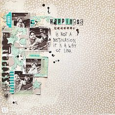 LO with 4small photo's! by I {lowe} SCRAP :: 'Tis The Season' :: september sketch by Olennka