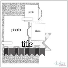 Cute layout! Reverse this and make it into a 2 page layout?
