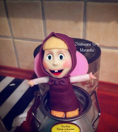 Fondant Masha from Masha and The Bear