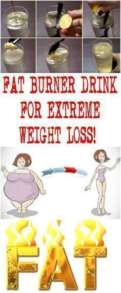 FAT BURNER DRINK FOR EXTREME WEIGHT LOSS!