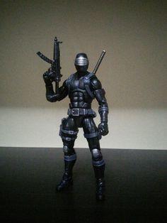 Snake Eyes (Marvel Legends) Custom Action Figure