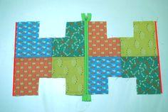 Patchwork Cube Bag. Сумочка-куб