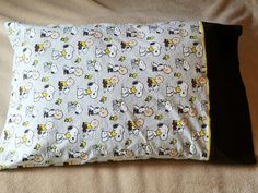 Check out this item in my Etsy shop https://www.etsy.com/listing/482210523/charlie-brown-and-snoopy-pillowcase