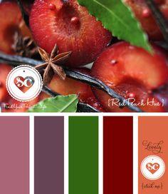 065 Red Peach Hue by Asmalina © 2012 Sorbetcolour ™