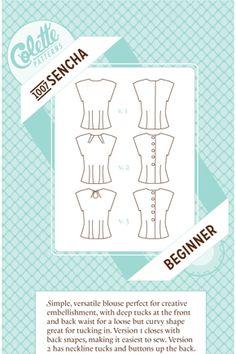 Sencha - Colette Patterns