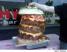 I mean....it's a long weekend after all. You have all the time in the world to eat this monster!