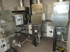 Hi-Velocity systems with HEPS Purifier module.