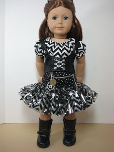 18 inch Doll Clothes American Girl Steampunk (?) by nayasdesigns
