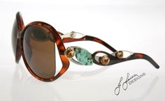 SUNGLASSES....Custom Designed...BE UNIQUE....Visit our Website:  www.Jjansendesigns.com