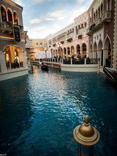 Gondolieri in... The Venetian Resort Hotel Casino, Las Vegas, Nevada