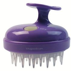 Scalp Massaging Shampoo Brush - Hair Experience the benefits of enhanced cleaning and deep relaxation with the Vitagoods Scalp Invigorator. An enhanced scalp cleaning and exfoliating routine leaves the skin healthier, gently lifting away dead skin cells, whilst increasing the blood circulation to keep hair healthy and clean.