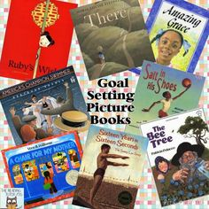 Mentor Monday: Picture books for teaching goal setting with kids #thereadingtutorog #mentormonday